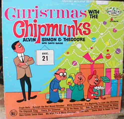 but it occurred to me that screwing or is it unwinding one of the chipmunks christmas tunes would be a funny way both to reverse engineer the song - Alvin And The Chipmunks Christmas Songs